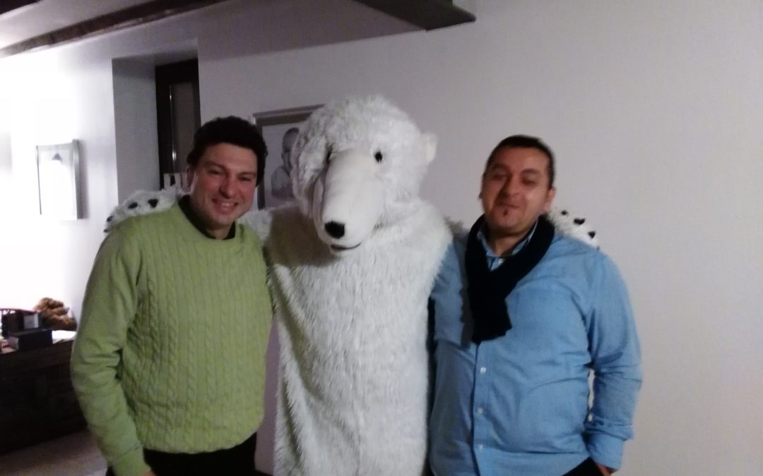 COP21 – témoignage d'un ours polaire à Jurbise