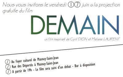 Projection du film DEMAIN