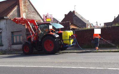 Utilisation des pesticides – Jurbise a une guerre de retard